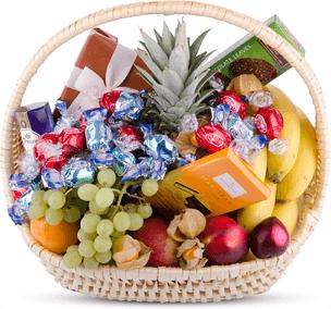 Gåvokorgar, gåvogram och presentkorgar för leverans
